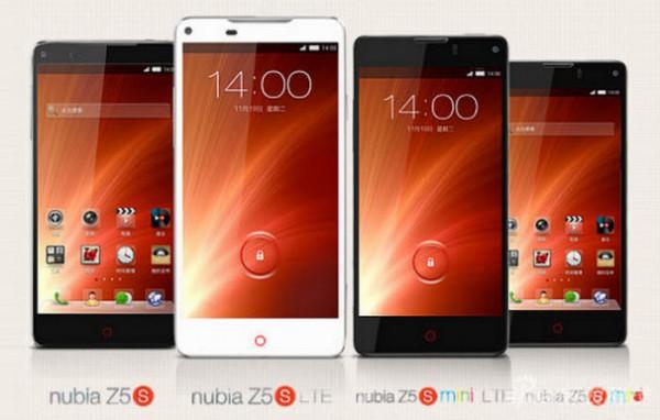 ZTE Nubia Z5S sekä Z5S mini