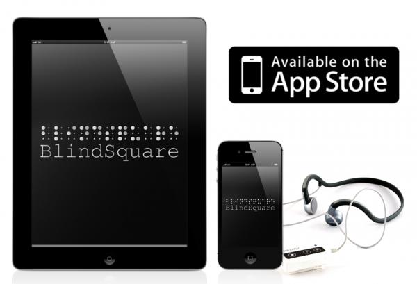 Maailman paikkatiedot myös näkörajoitteisille esille tuova BindSquare on tarjolla iPadille ja iPhonelle.