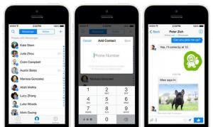 Facebook Messenger iPhonessa