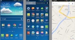 Vertailun vuoksi: nykyisen TouchWizin ilmettä Galaxy Note 3:sta