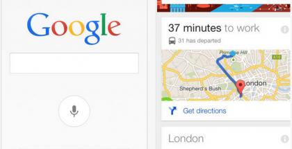 Google Now iPhonessa