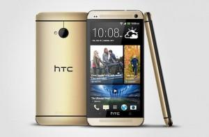 HTC One kultaisena värivaihtoehtona
