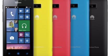 Huawein aiempi Windows-puhelin Ascend W2