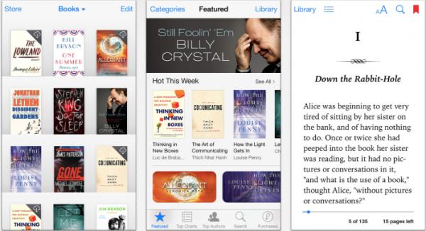 Uudistunut iBooks