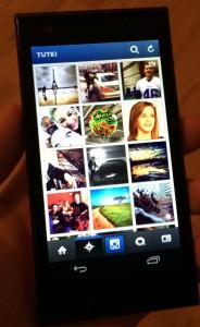 Androidin Instagram pelaa Jollassa hyvin