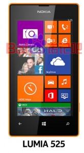 Lumia 525:n oranssi on uusi värivaihtoehto. Kiinalaisella Baidu-palstalla julkaistu kuva.
