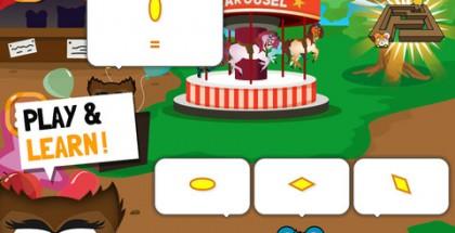 SmartKid Mathsissa opetetaan pelihahmolle matemaattisia taitoja