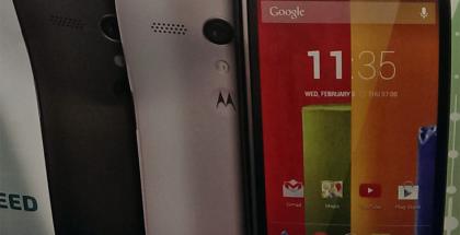 Motorola Moto G @evleaksin vuotokuvassa