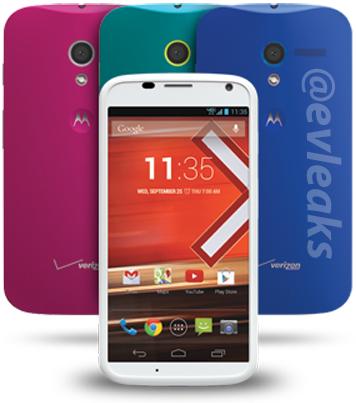 Motorola Moto G @evleaksin vuotamassa lehdistökuvassa
