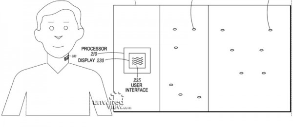 Kuva Motorolan patenttihakemuksesta