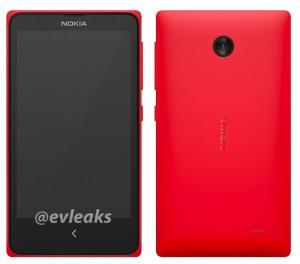 Nokian Normandy @evleaksin julkaisemassa kuvassa