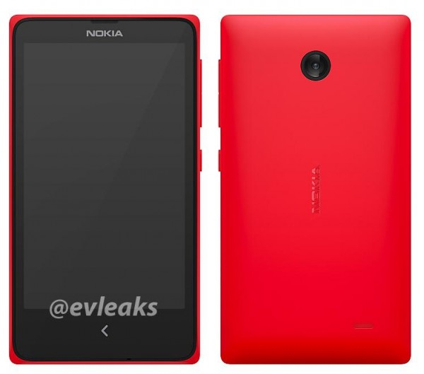 Nokian tuleva Asha-puhelin @evleaksin julkaisemassa lehdistövuotokuvassa