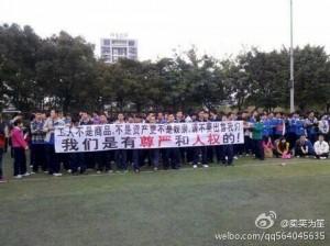 Nokian Dongguanin tehtaan työntekijät protestoivat Microsoft-kauppaa