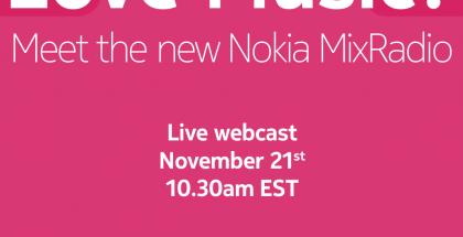 Nokia Music -tilaisuuden kutsu