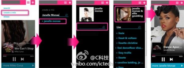 Nokia Musicin mobiiliverkkoversio CTechCN:n kuvassa