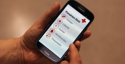 Punaisen Ristin mobiilisovellus