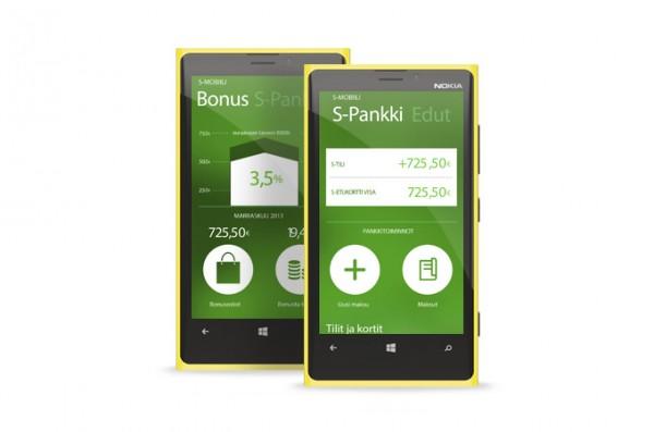 S-mobiili Windows Phonella