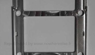 Nowhereelse.fr:n väitetty aiemmin julkaistu kuva Samsung Galaxy S5:n metallirungosta