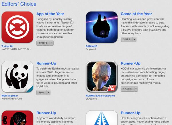 Suomalaisen Frogmindin BADLAND-peli sai näkyvän tunnustuksen Applelta