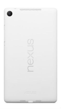 Googlen ja Asuksen Nexus 7 valkoisena värivaihtoehtona