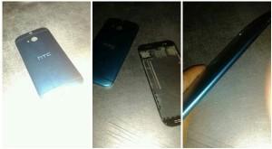 Väitetty HTC M8:n takakuori aiemmin vuotaneissa kuvissa