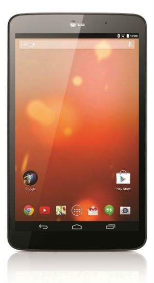 LG G Pad 8.3 Google Play -versiona