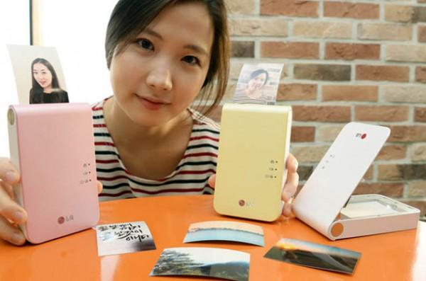 LG Pocket Photo 2 sopii taskuun ja sillä voi heti tulostaa älypuhelimen kameralla napsitut kuvat