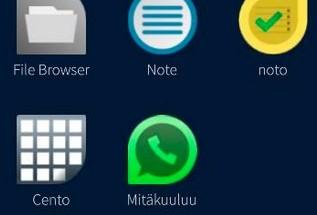 Mitäkuuluu tuo WhatsAppin Jollaan