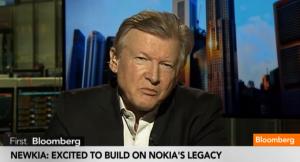 Newkian toimitusjohtaja Urpo Karjalainen Bloombergin haastattelussa