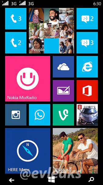 Nokia Moneypennyn Windows Phone -aloitusnäyttönäkymä