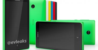 Nokia Normandy useissa eri väreissä @evleaksin aiemmin vuotamassa kuvassa