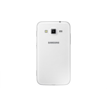 Samsung Galaxy Core Advance valkoisena takaa