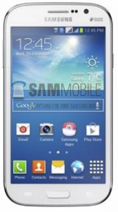 Samsung Galaxy Grand Lite SamMobilen julkaisemassa kuvassa