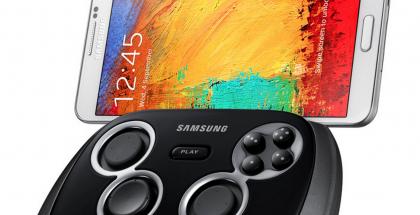 Samsungin uusi GamePad yhdistettynä 5,7 tuuman Galaxy Note 3:een