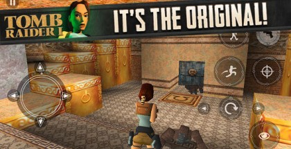 Tomb Raider I tuli App Storeen