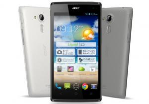 Acer Liquid Z5 kuuluu yhtiön nykymallistoon - siinä on Windows Phonen sijaan Android-käyttöjärjestelmä