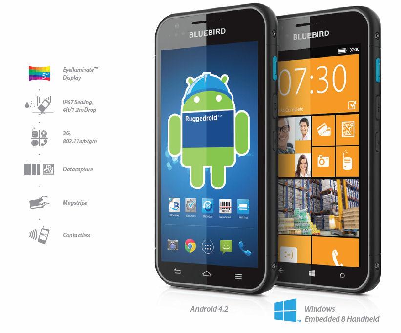 Tähän yritysälypuhelimeen voi valita joko Androidin tai Windowsin | Mobiili.fi