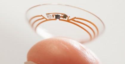 Googlen julkaisema kuva sen kehittämästä diabeetikoiden älypiilolinssistä