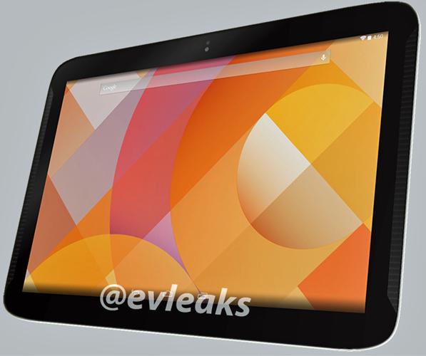 Googlen ja Samsungin tekemä uusi Nexus 10? Ehkä. @evleaksin julkaisema kuva.