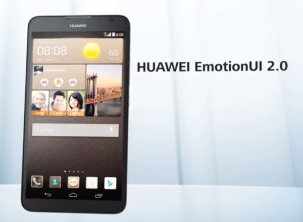 Huawei Ascend Mate2 4G ja Emotion UI 2.0