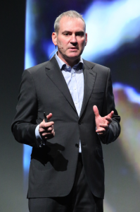 Huawei-pomo, entinen Nokian myyntijohtaja Colin Giles