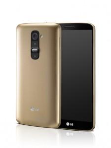 LG G2 kultaisena