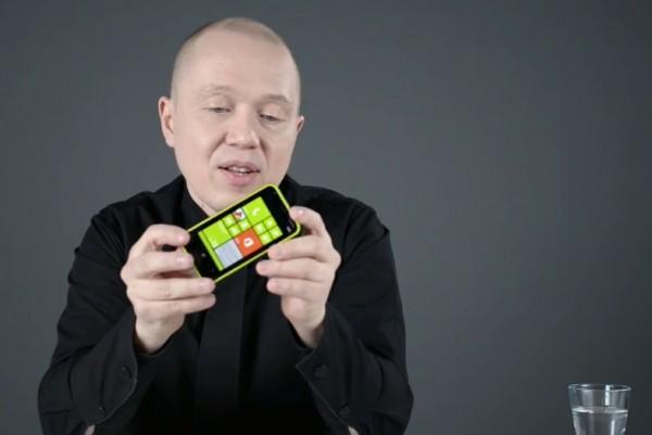 Marko Ahtisaari veti Lumia-muotoilua