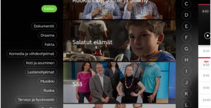 MTV Katsomon sovellus iPadille