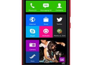 Nokia X punaisena värivaihtoehtona