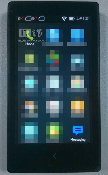 itmore.com-sivustolla julkaistu väitetty kuva Nokia Normandyn käyttöliittymästä