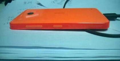 Nokia X sivulta Nowhereelse.fr:n julkaisemassa kuvassa