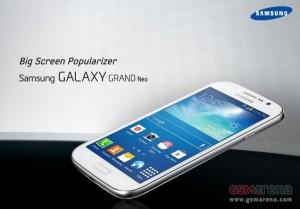 Samsung Galaxy Grand Neo GSM Arenan julkaisemassa kuvassa