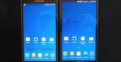 Samsung Galaxy Note 3 Neo SamMobilen julkaisemassa kuvassa