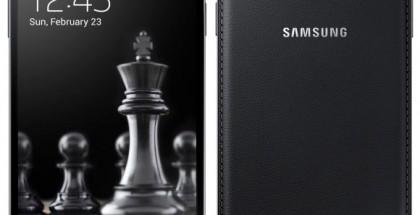 Samsung Galaxy S4 - nyt mustana Black Edition -versiona nahkamaisesti teksturoidulla takakuorella